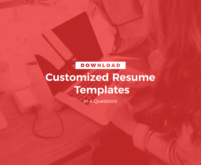 customized resume templates img