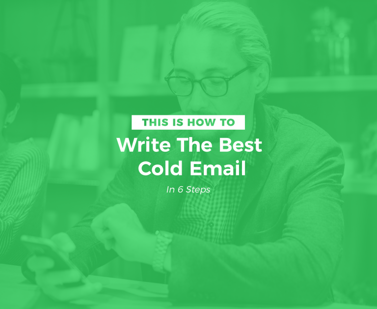 How to write the best cold email for a job